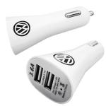 Brinde Carregador/Adaptador veicular USB duplo