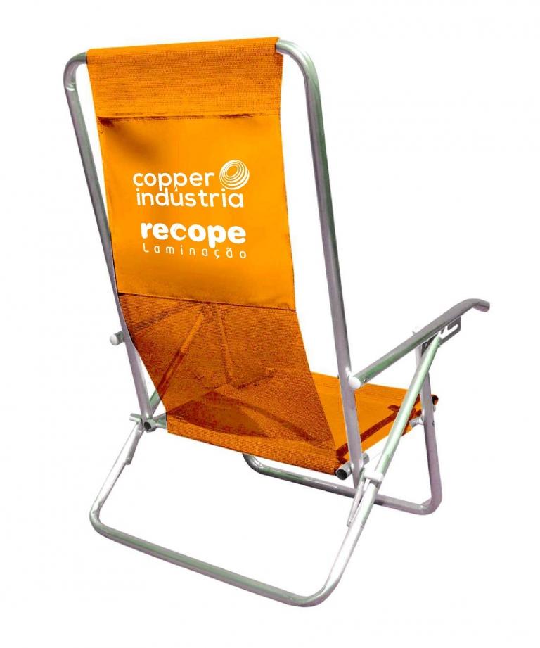 Cadeira de Praia 5 Posições – CP005 – COOPER INDUSTRIA RECOPE
