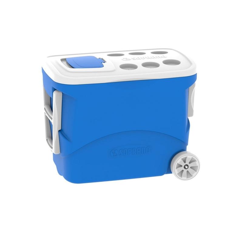 Brinde Caixa Térmica com Rodinhas e Puxador 50 Litros