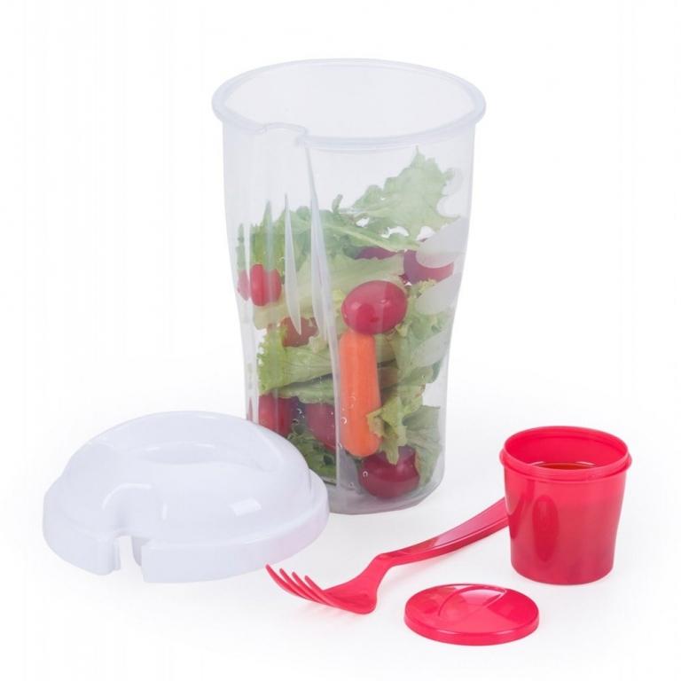 brinde Copo para Salada com Garfo 800 ml-1