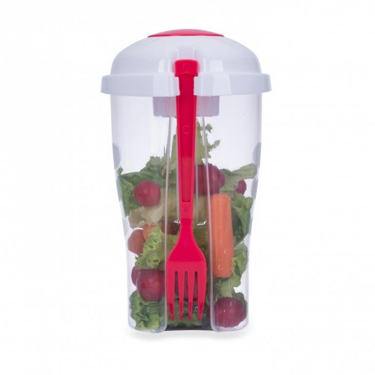 brinde Copo para Salada com Garfo 800 ml-5