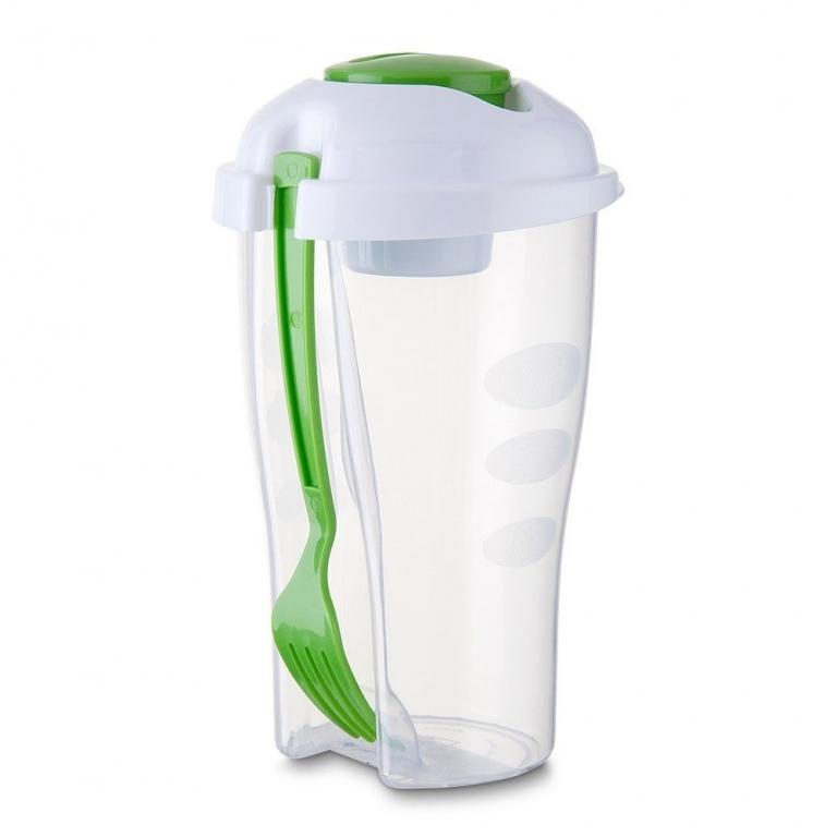 brinde Copo para Salada com Garfo 800 ml-9