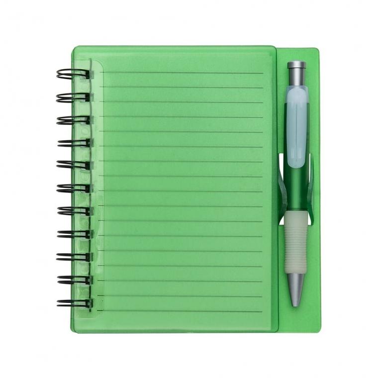 Bloco PVC com caneta