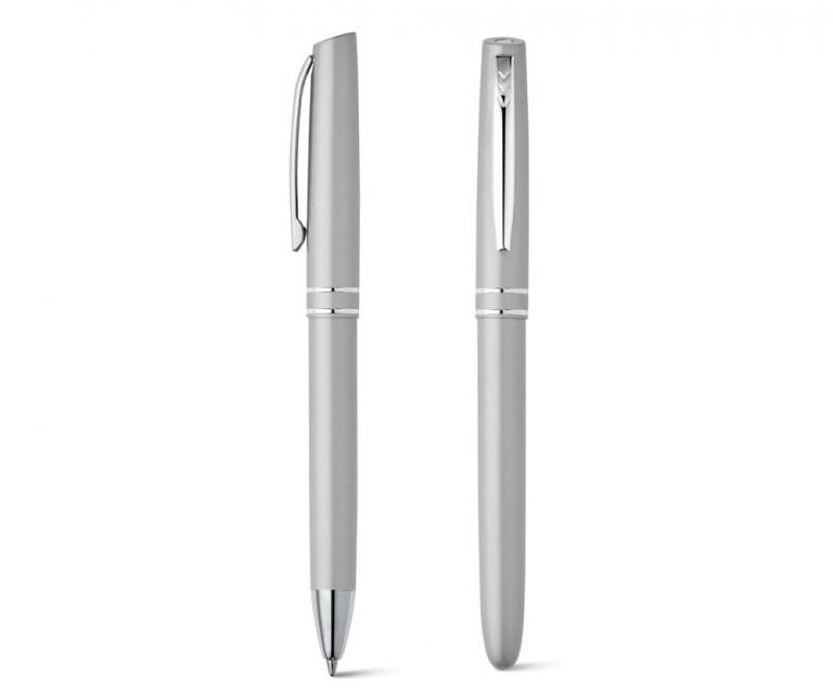 Kit caneta rooler e esferográfica