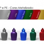 Brinde Cantil PVC metalizado