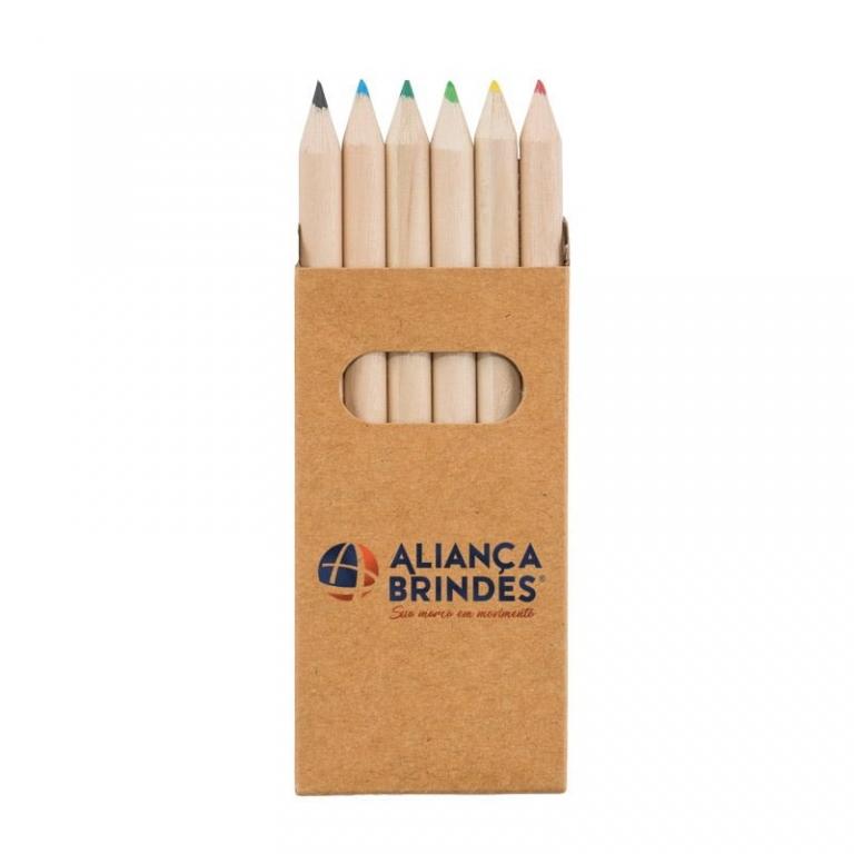Kit com lápis