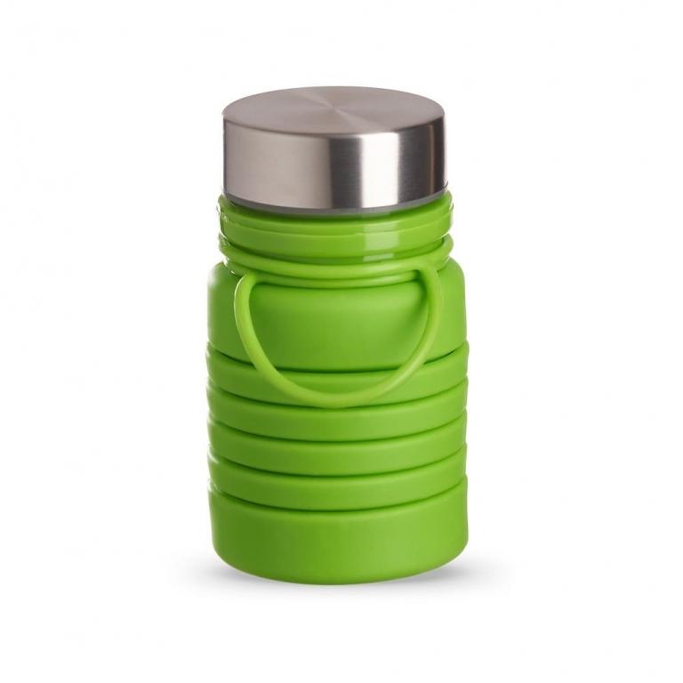 brinde Squeeze Ecologica Retratil de Silicone 500 ml-11