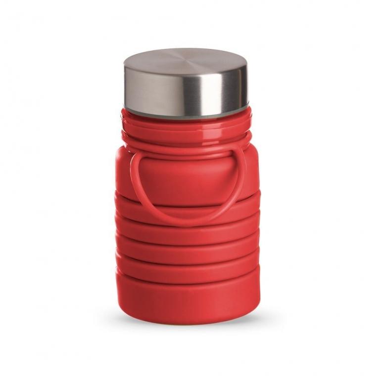 brinde Squeeze Ecologica Retratil de Silicone 500 ml-13