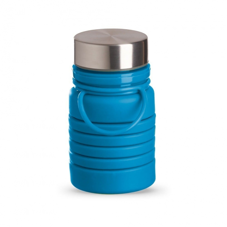 brinde Squeeze Ecologica Retratil de Silicone 500 ml-3