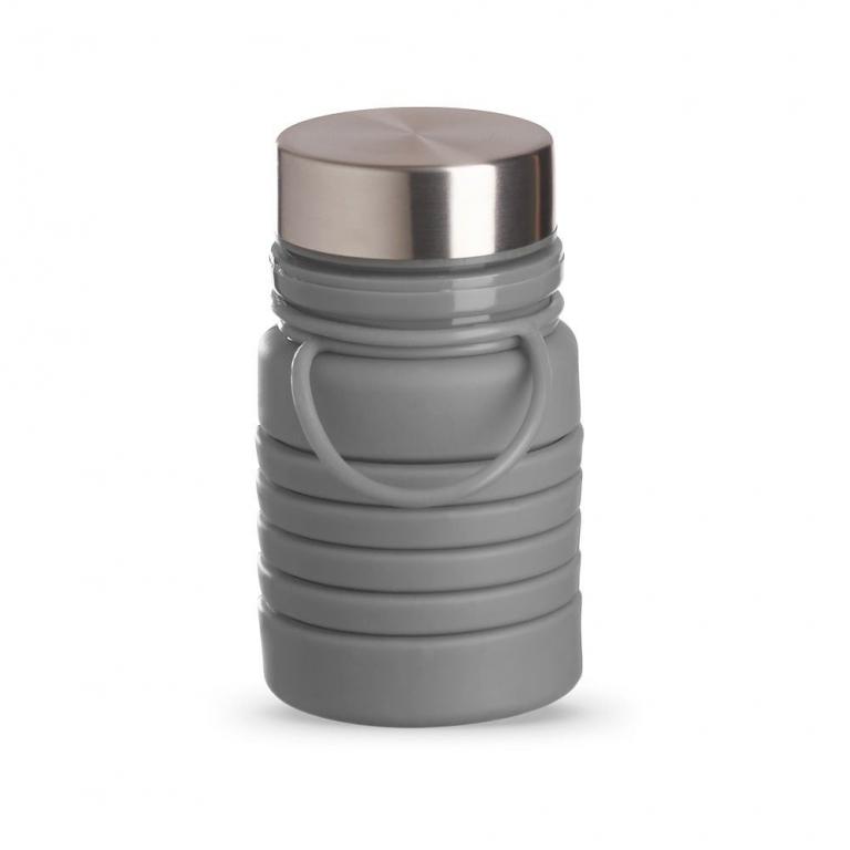 brinde Squeeze Ecologica Retratil de Silicone 500 ml-5