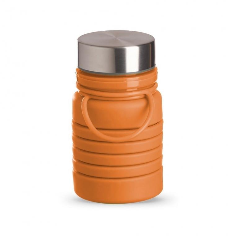 brinde Squeeze Ecologica Retratil de Silicone 500 ml-7