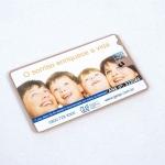Brinde Cartão com Fio Dental com Espelho