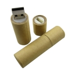 Brinde Pen Drive Ecológico de Papel 8 GB