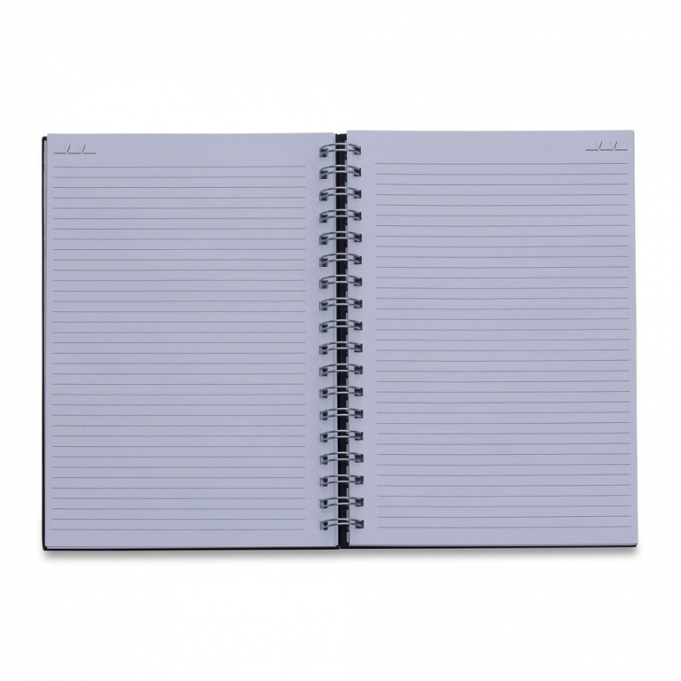 brinde Caderno Capa Kraft com 98 Folhas Pautadas-2