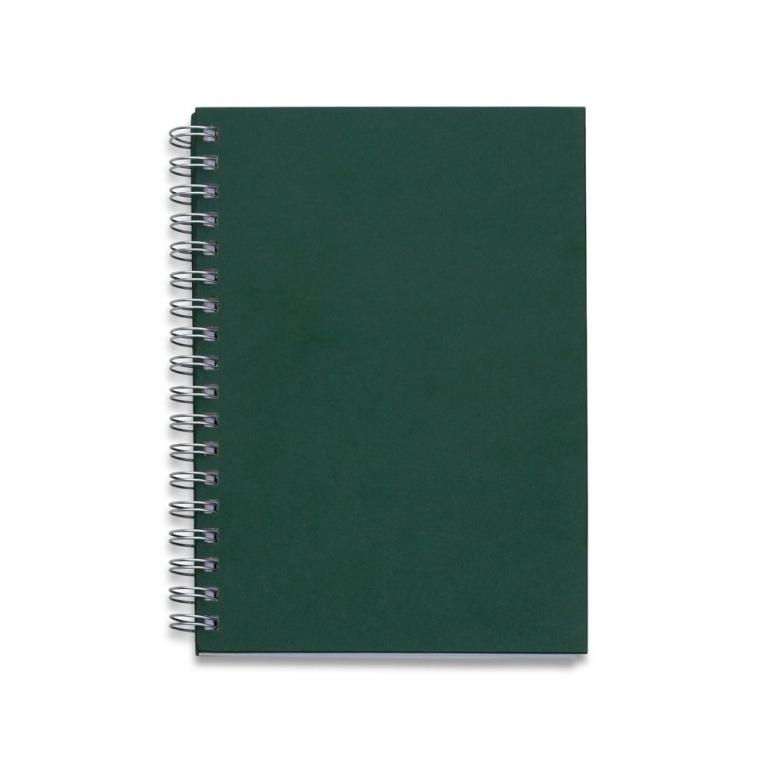 brinde Caderno Capa Kraft com 98 Folhas Pautadas-4