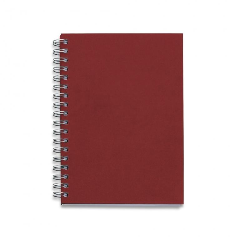 brinde Caderno Capa Kraft com 98 Folhas Pautadas-6