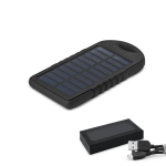Brinde Bateria Portátil Power Bank com Carregador Solar