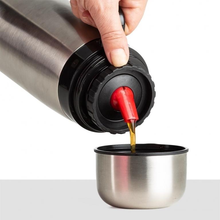 brinde Garrafa Termica em Inox com Bico Plastico 1 lt-2