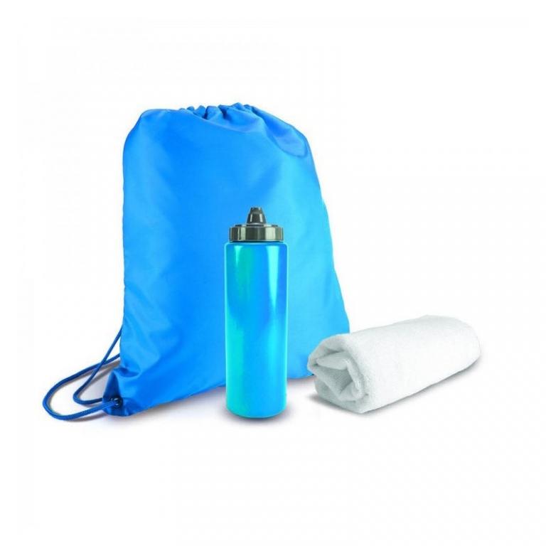 Brinde Kit Academia com Squeeze 750 ml, Mochila e Toalha