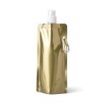 Brinde Squeeze Dobrável Gold Silver 460 ml