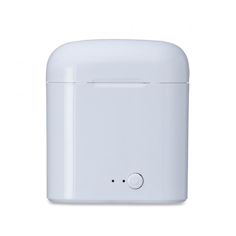 brinde Fone de Ouvido Sem Fio Bluetooth com Case Carregador-3