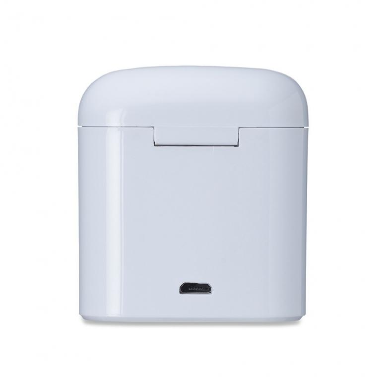 brinde Fone de Ouvido Sem Fio Bluetooth com Case Carregador-4