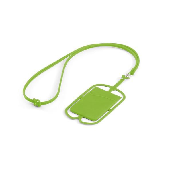 brinde Porta Cartao para Celular em Silicone com Cordao-10