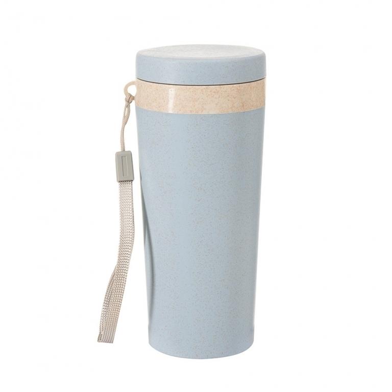 Brinde Copo Térmico Ecológico de Fibra de Bambu 350 ml