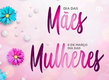 Brindes personalizados para dia das mães e dia das mulheres