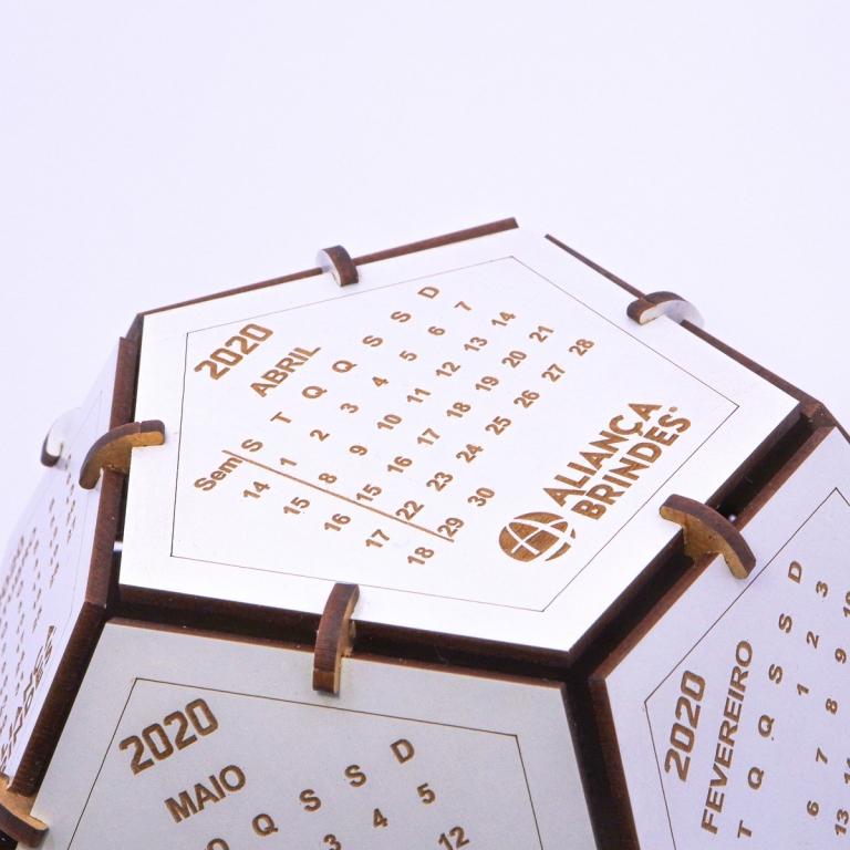 brinde Calendario Globo Ecologico personalizado-3