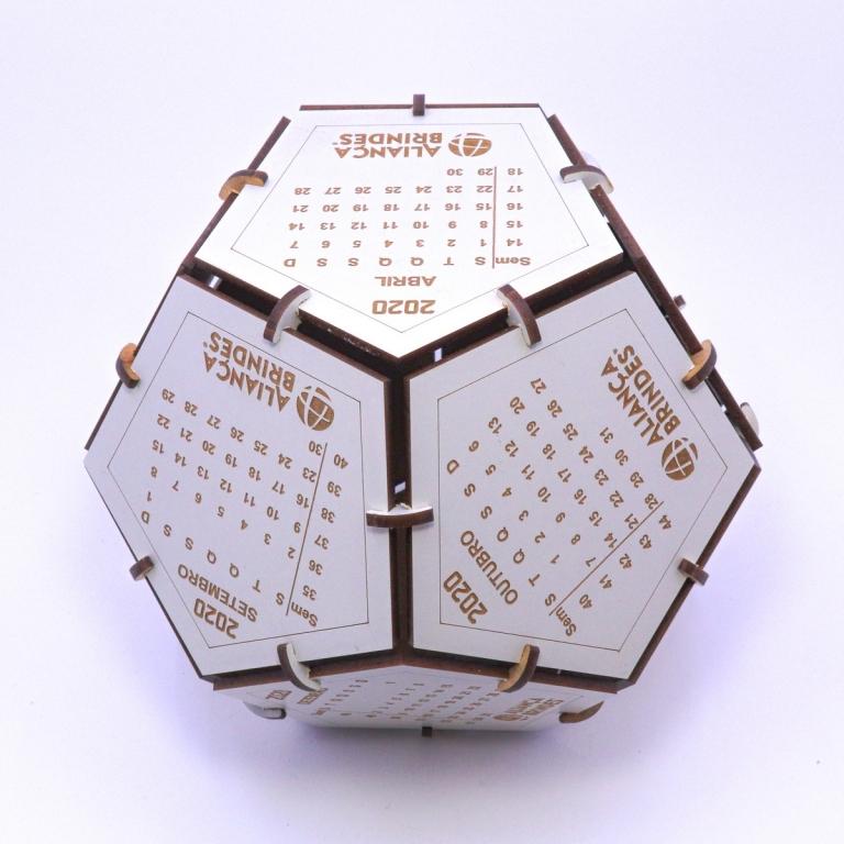 brinde Calendario Globo Ecologico personalizado-5