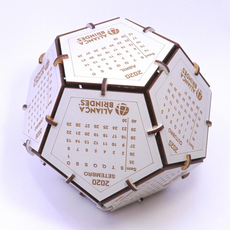 brinde Calendario Globo Ecologico personalizado-7