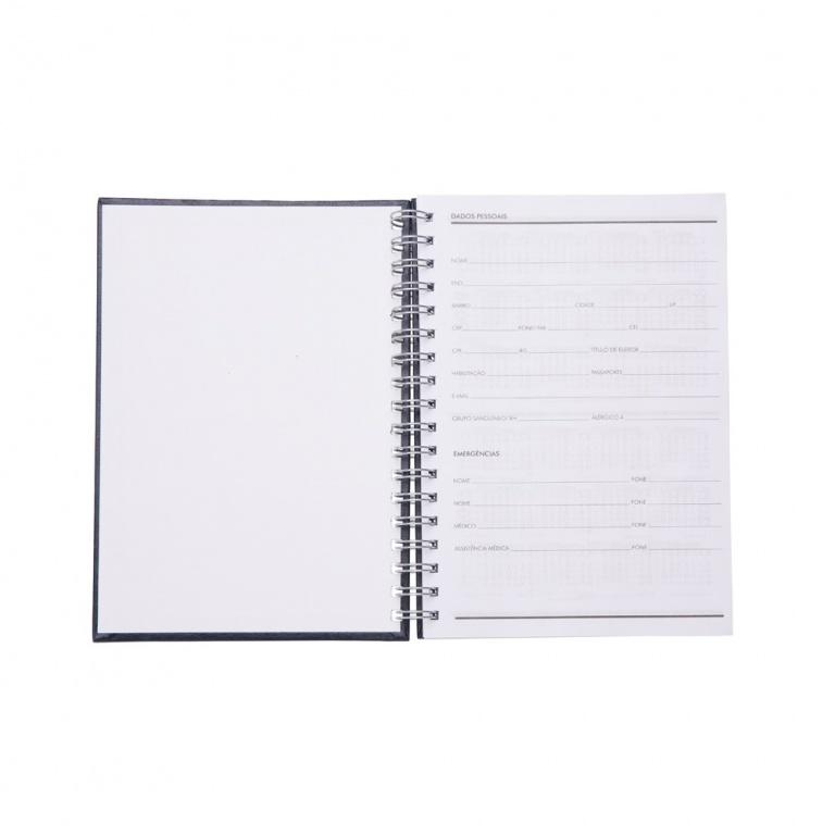 brinde Caderno Primer com Capa de Couro Sintetico personalizado-3