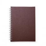 Brinde Caderno Primer com Capa de Couro Sintético