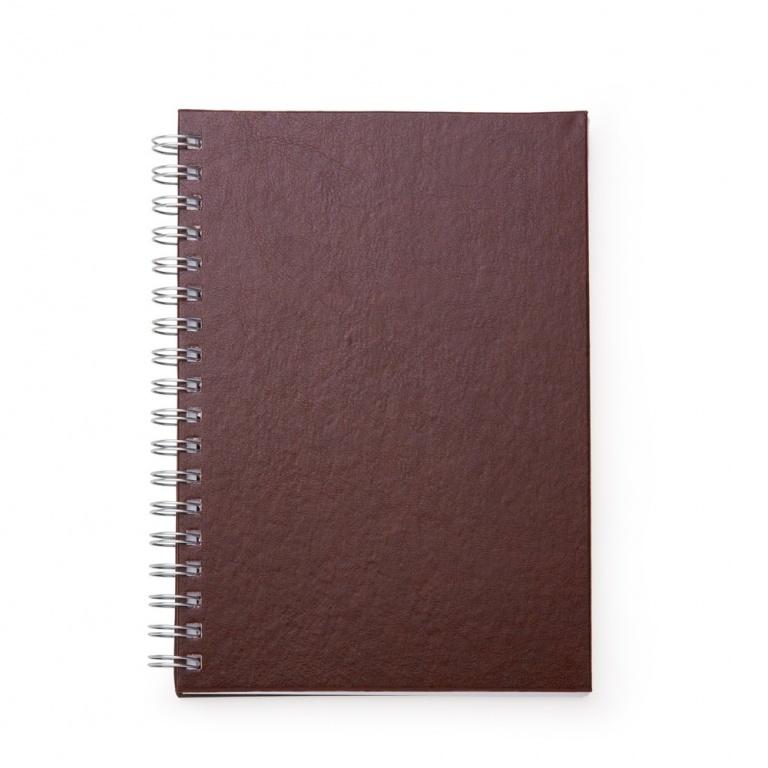 brinde Caderno Primer com Capa de Couro Sintetico personalizado-4