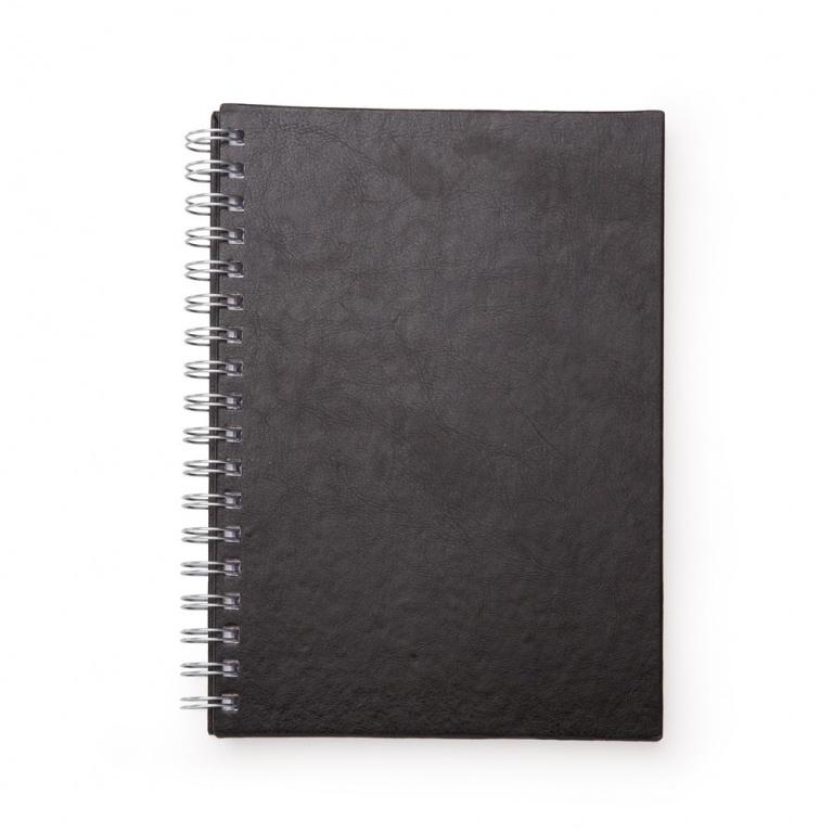 brinde Caderno Primer com Capa de Couro Sintetico personalizado-5