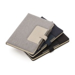 Brinde Caderno com Capa Dura e Fechamento Magnético