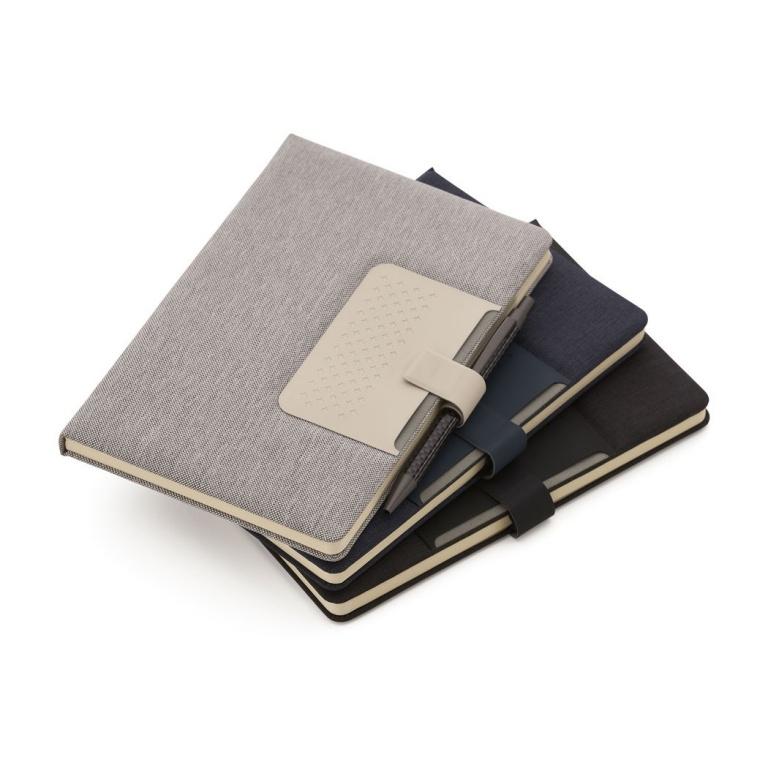brinde Caderno com Capa Dura e Fechamento Magnetico personalizado-1