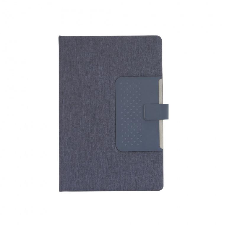 brinde Caderno com Capa Dura e Fechamento Magnetico personalizado-3