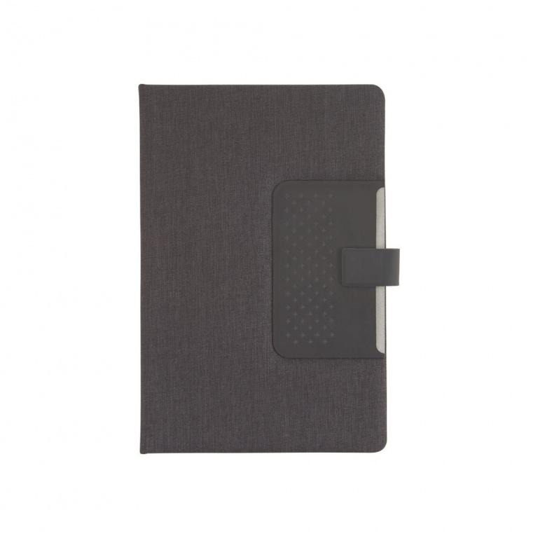 brinde Caderno com Capa Dura e Fechamento Magnetico personalizado-5
