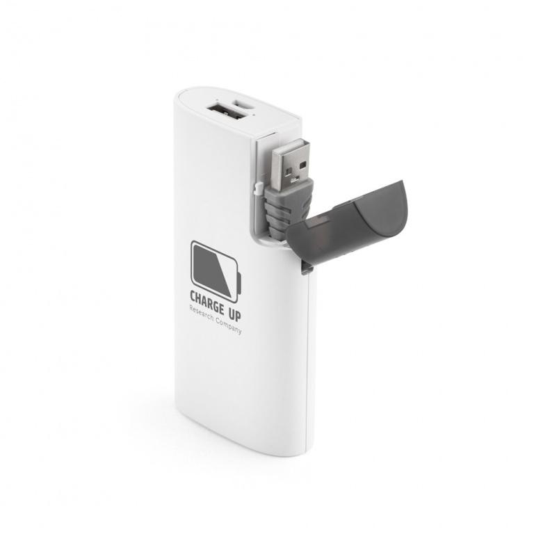 brinde Carregador Portatil de Celular com Compartimento Para Cabo personalizado-6